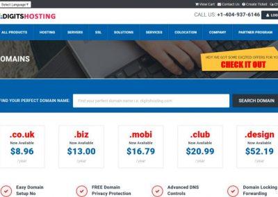 Web Development For A Web Hosting Company